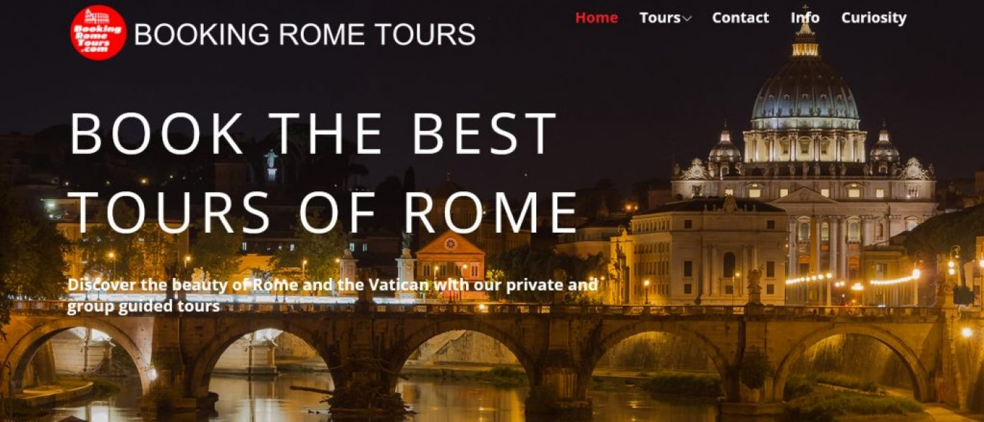Booking Rome Tours Screen Capture