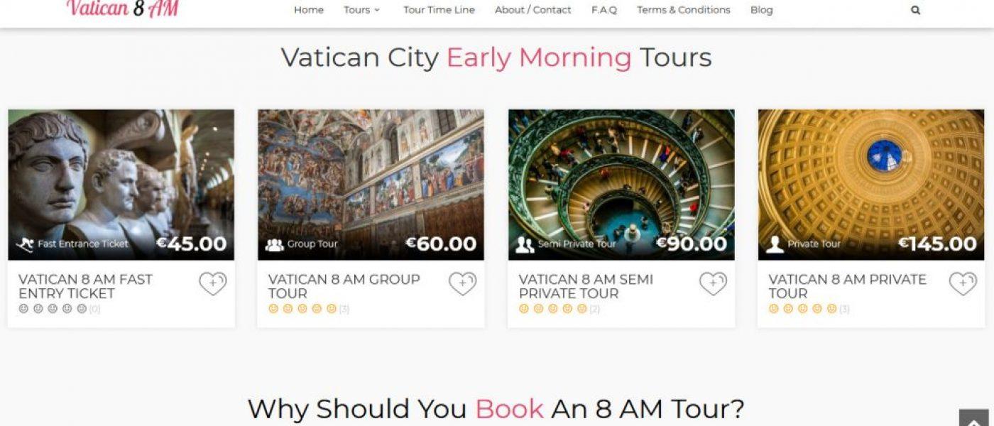 Vatican 8 AM Screen Capture