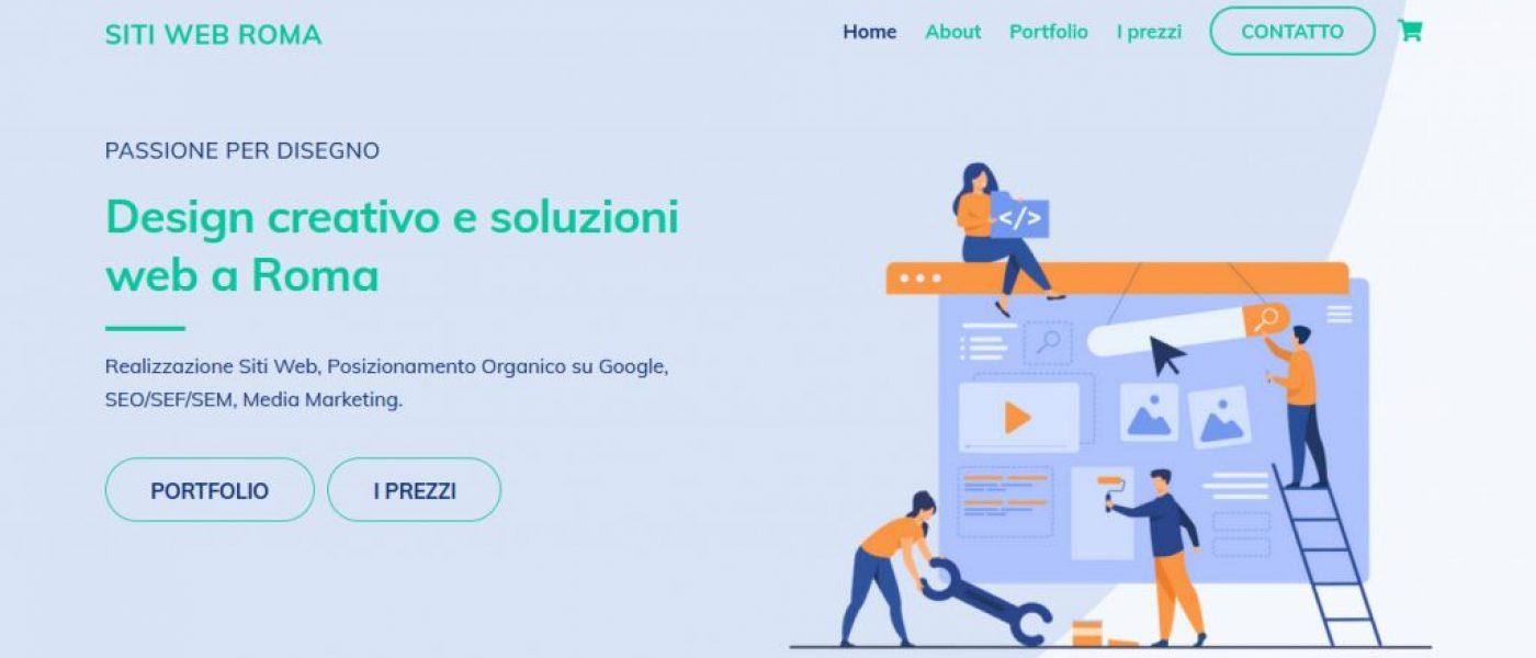 Siti Web Roma Screen Capture